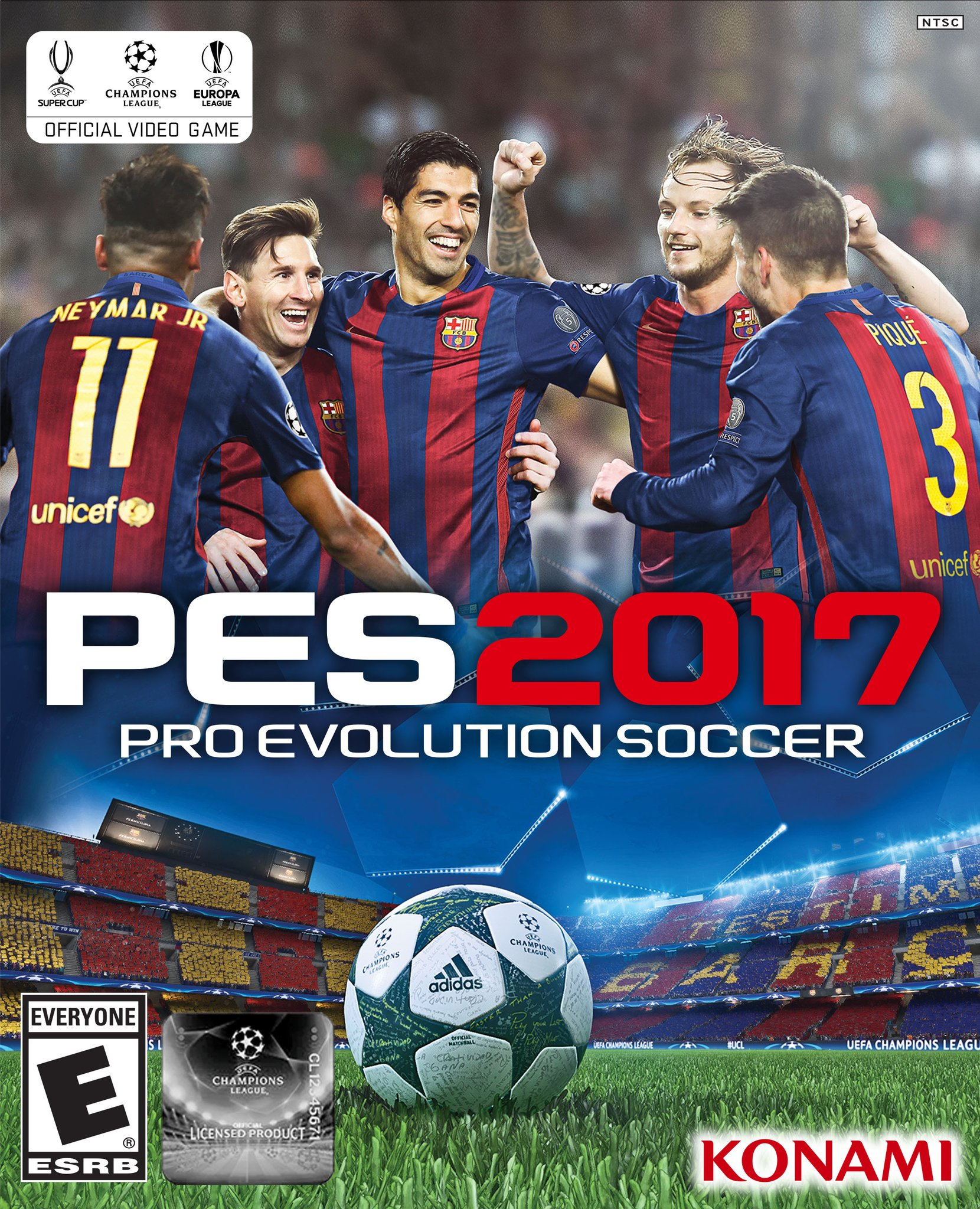 Cover PES 2017