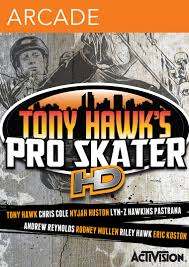 Cover Tony Hawk's Pro Skater HD