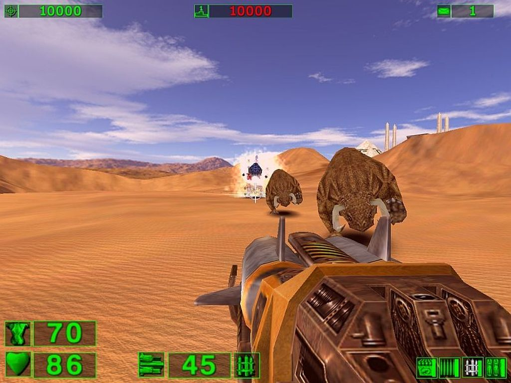 Screenshot for the game Serious Sam - Anthology / Serious Sam - Антология (2001-2013) PC | RePack от R.G. Механики