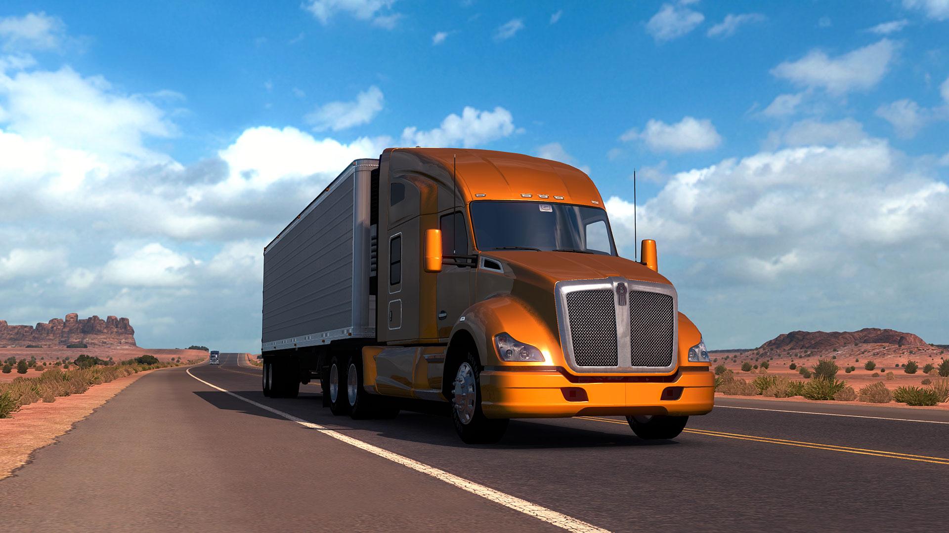 Screenshot for the game American Truck Simulator [v 1.6.2.4s + 14 DLC] (2016) PC | RePack от R.G. Механики