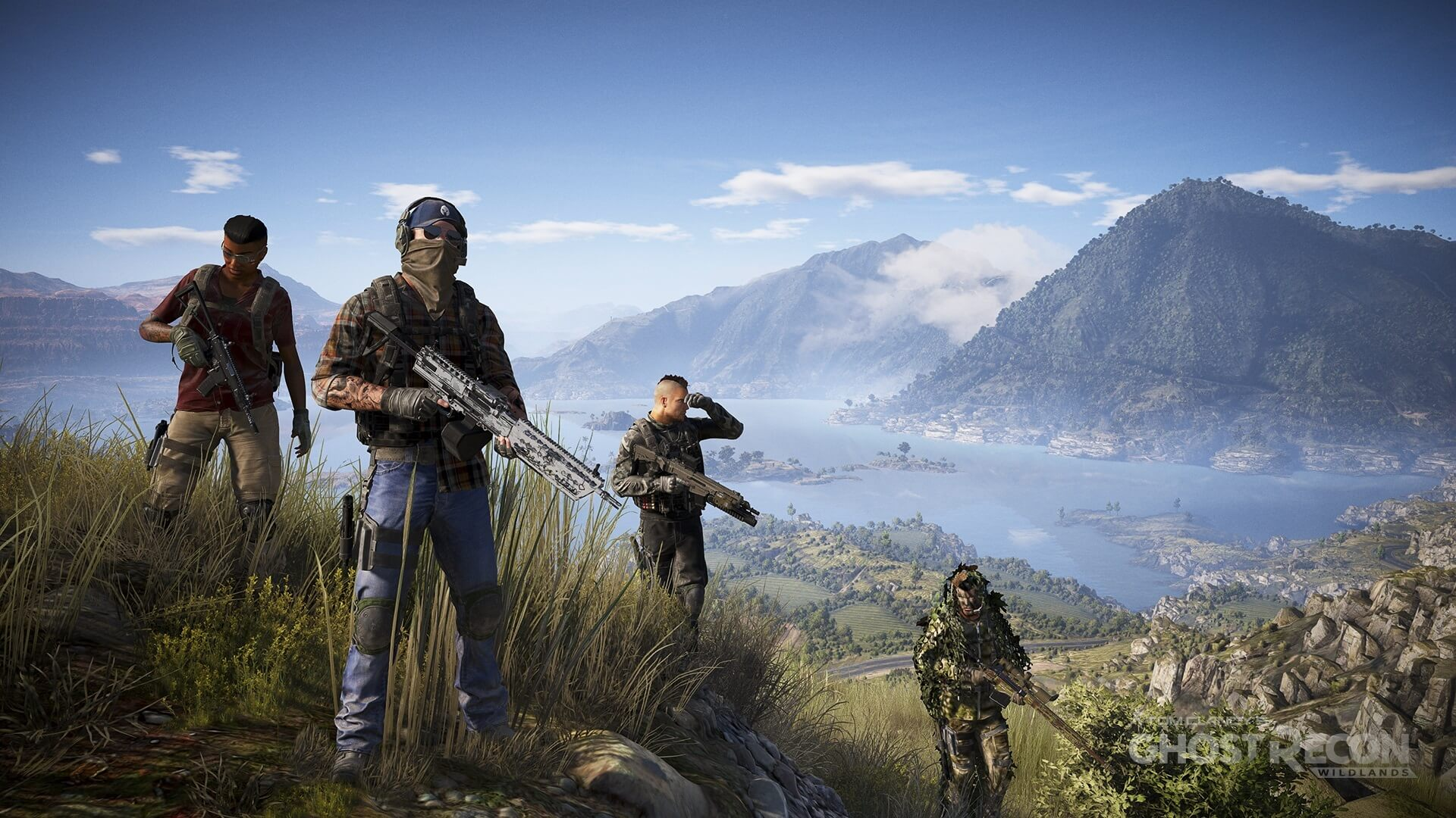 Screenshot for the game Tom Clancy's Ghost Recon: Wildlands (2017) PC | Repack от R.G. Механики