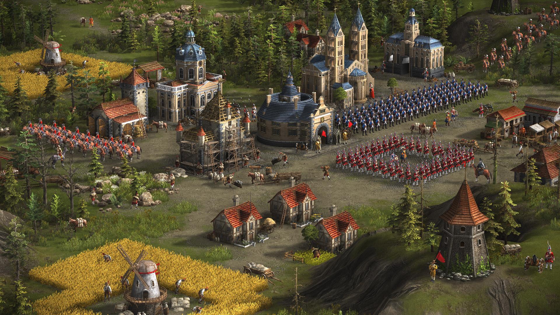 Screenshot for the game Cossacks 3 [v 2.0.0.85.5767 + 7 DLC] (2016) PC | RePack от R.G. Механики