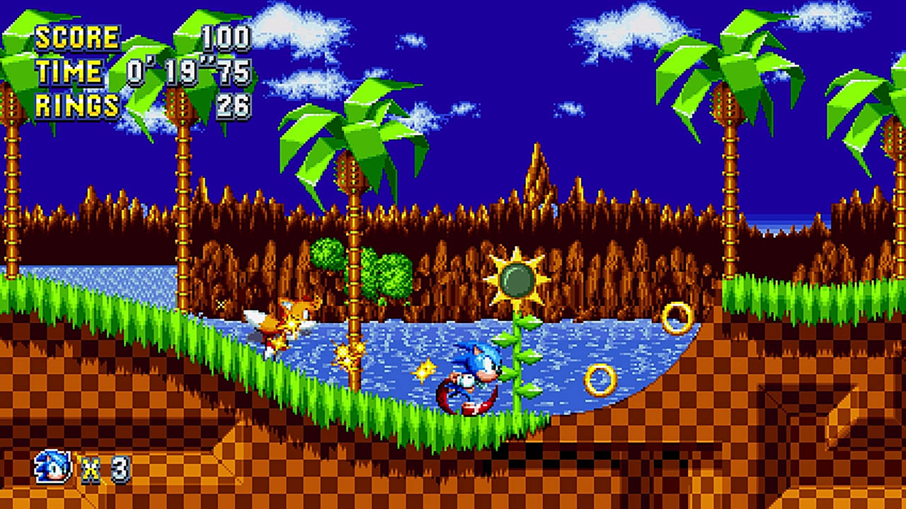 Screenshot for the game Sonic Mania (2017) PC | RePack от R.G. Механики