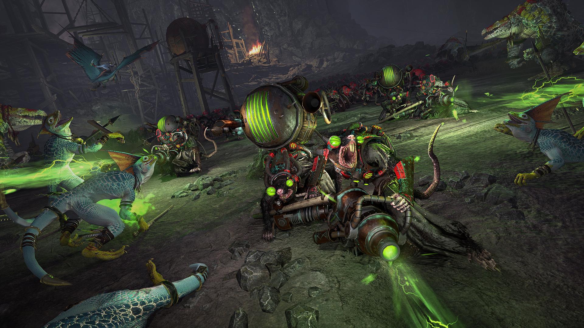 Screenshot for the game Total War: Warhammer II (2017) PC | Repack от R.G. Механики