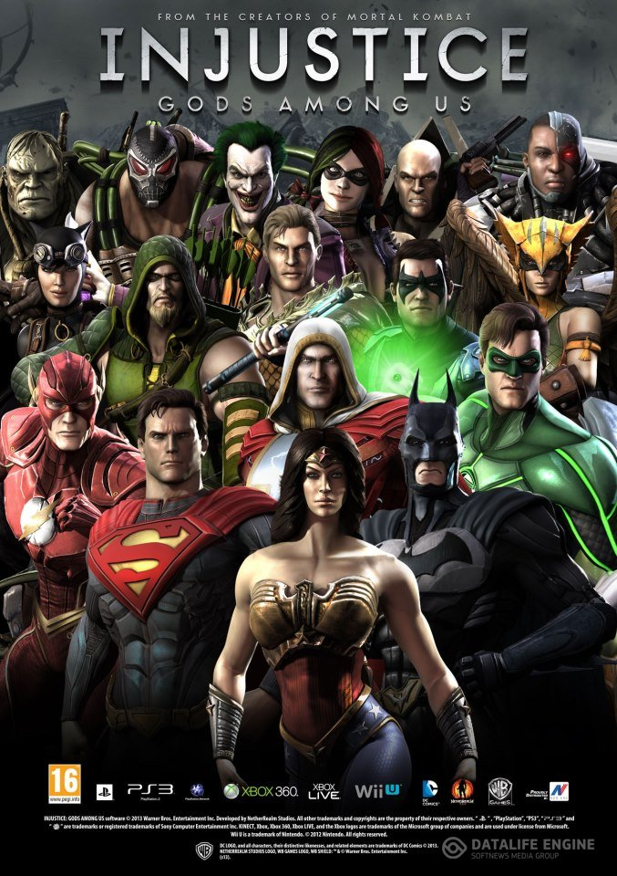 Poster Injustice: Gods Among Us. Ultimate Edition (2013)
