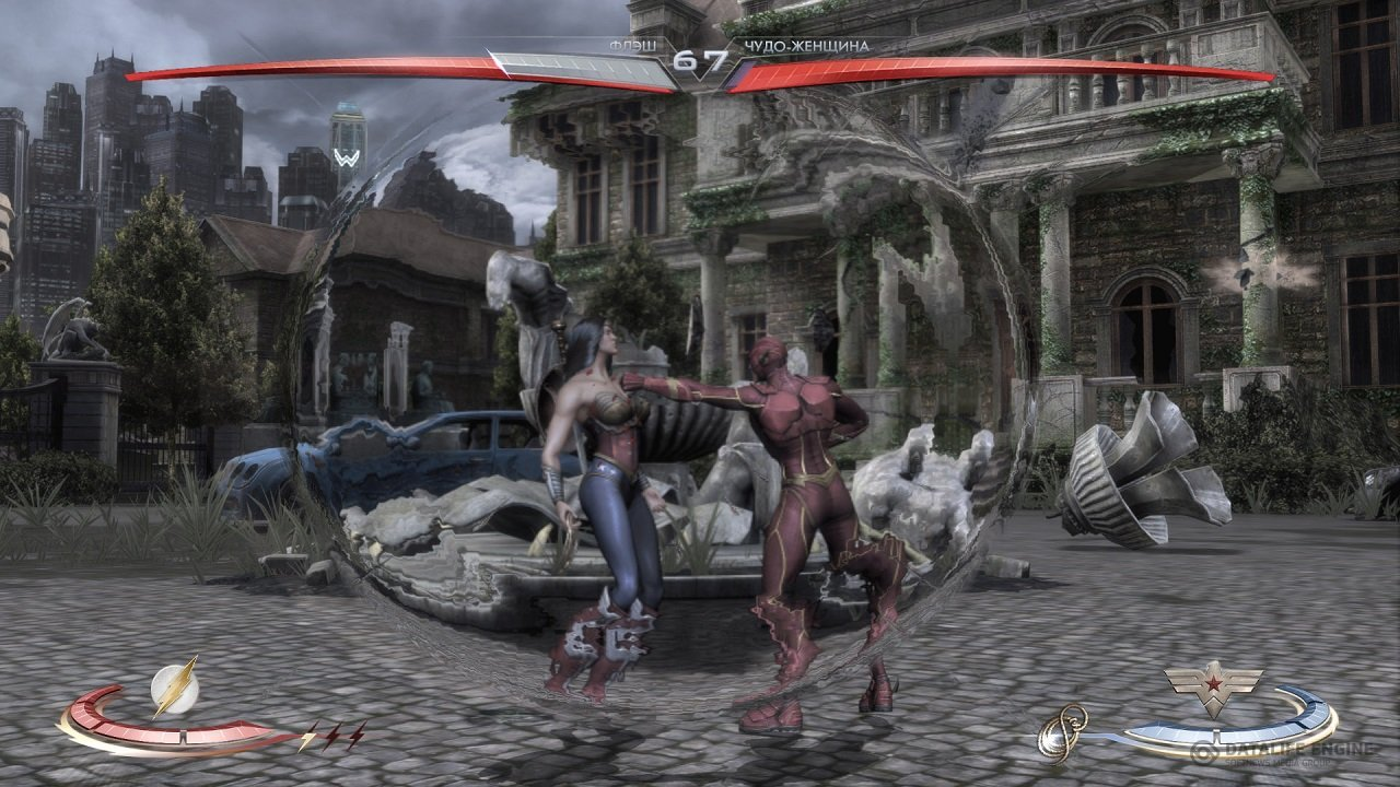 Screenshot for the game Injustice: Gods Among Us. Ultimate Edition [Update 5] (2013) PC | RePack от R.G. Механики