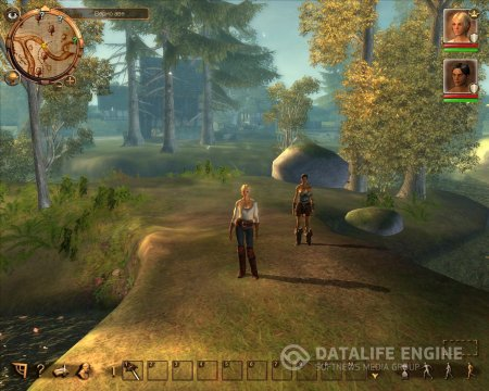 Screenshot for the game Drakensang: The Dark Eye (2009) PC | RePack by R.G. Mechanics