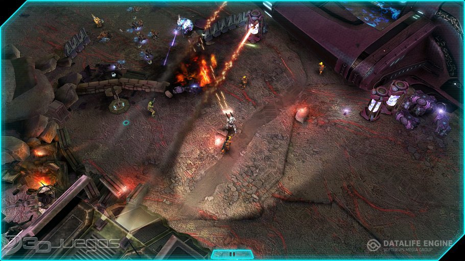 Screenshot for the game Halo: Spartan Assault (2014) PC | RePack by R.G. Mechanics