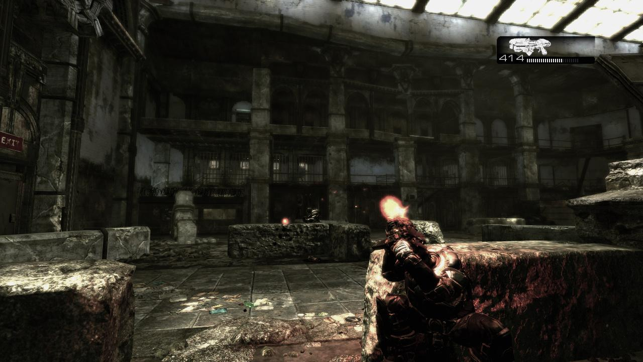 Screenshot for the game Gears of War (2007) PC | RePack от R.G. Механики