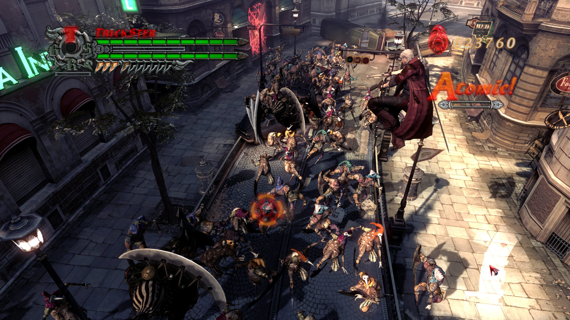 Screenshot for the game Devil May Cry 4 Collector's Edition (2008) PC | RePack by R.G. Mechanics