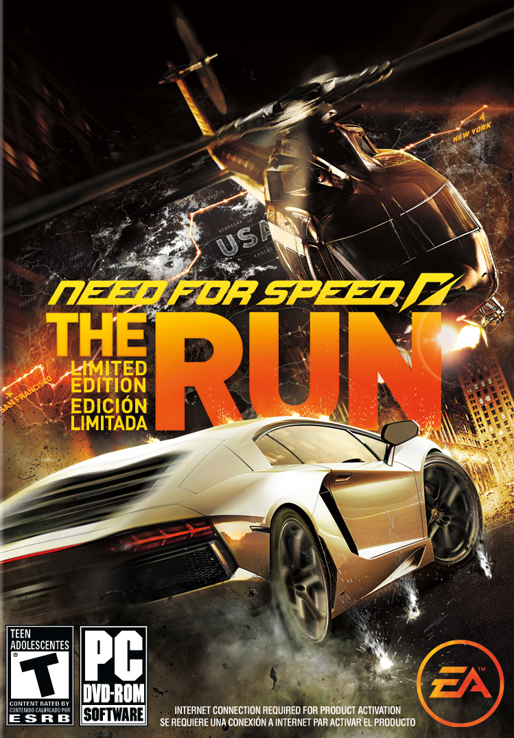 Poster Need for Speed: The Run (2011)