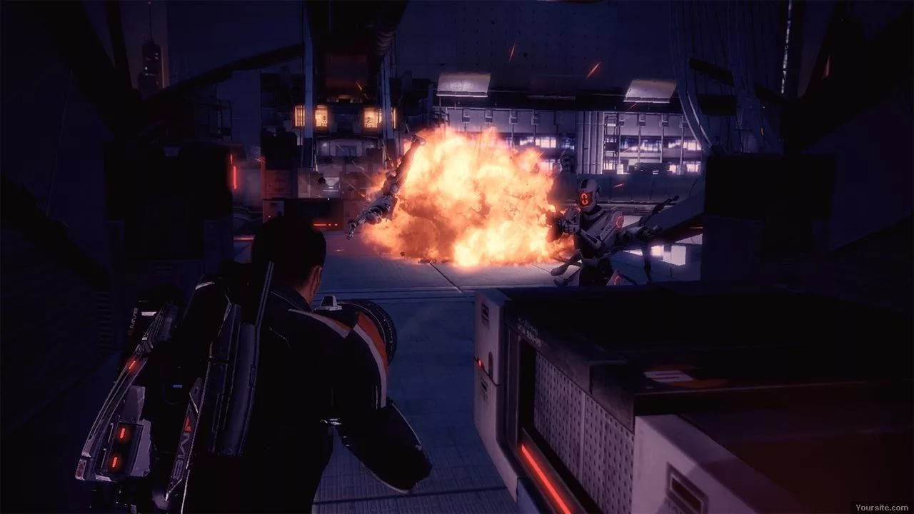 Screenshot for the game Mass Effect 2 (2010) PC | RePack by R.G. Mechanics