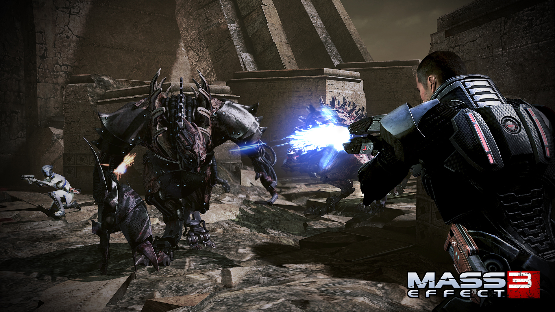 Screenshot for the game Mass Effect 3 (2012) PC | RePack by R.G. Mechanics