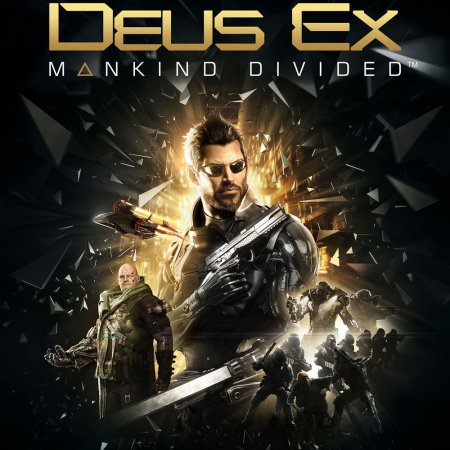Poster Deus Ex: Mankind Divided - Digital Deluxe Edition (2016)