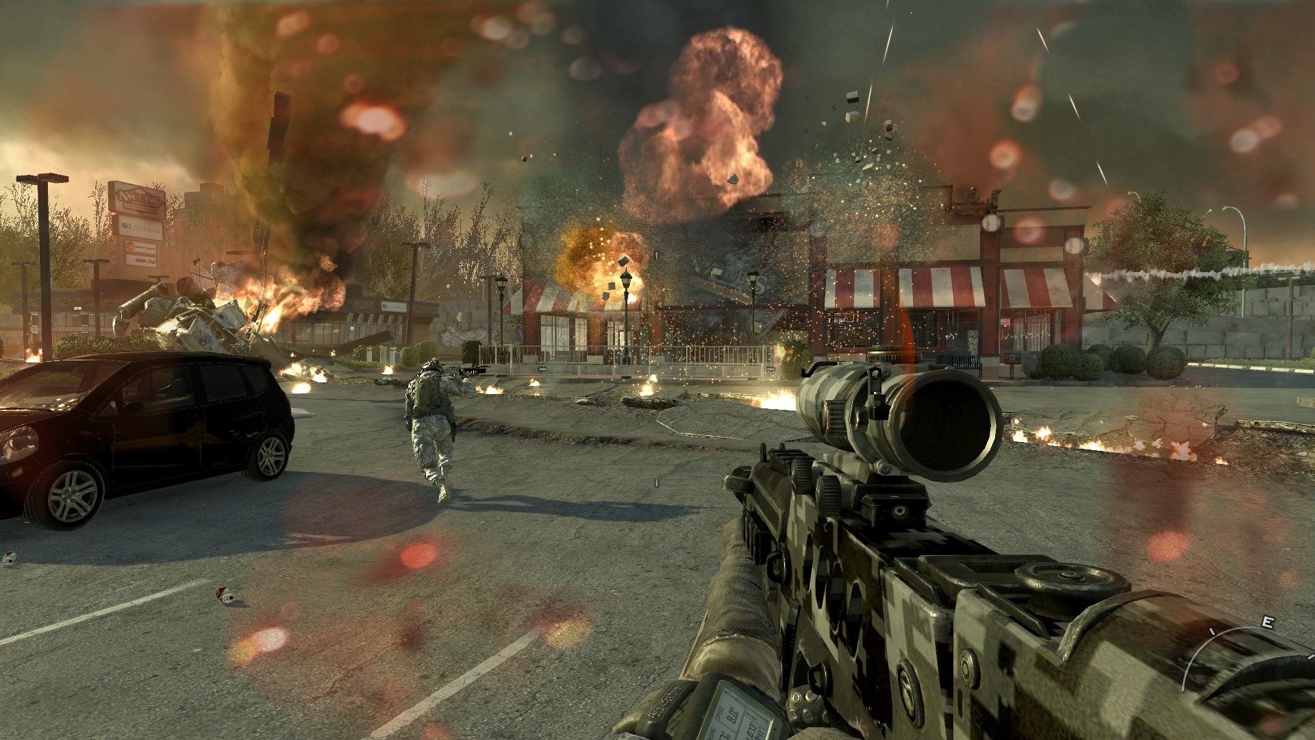 Screenshot for the game Call of Duty: Modern Warfare 2 (2009) PC | Rip from R.G. Mechanics