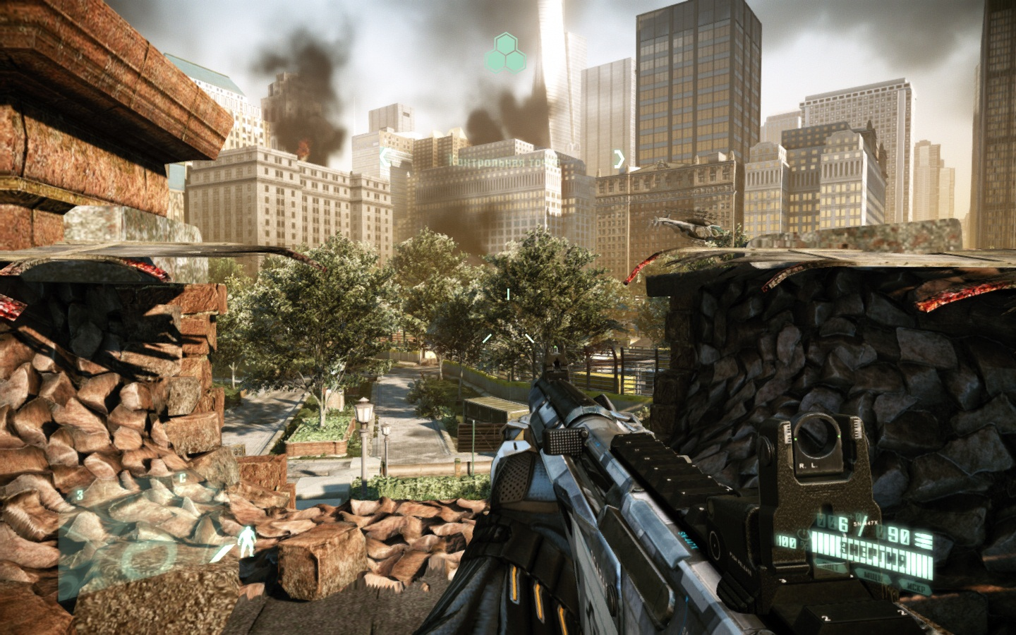 Screenshot for the game Crysis 2 (2011) PC | Lossless RePack by R.G. Mechanics