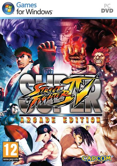Cover Street Fighter 4: Arcade Edition
