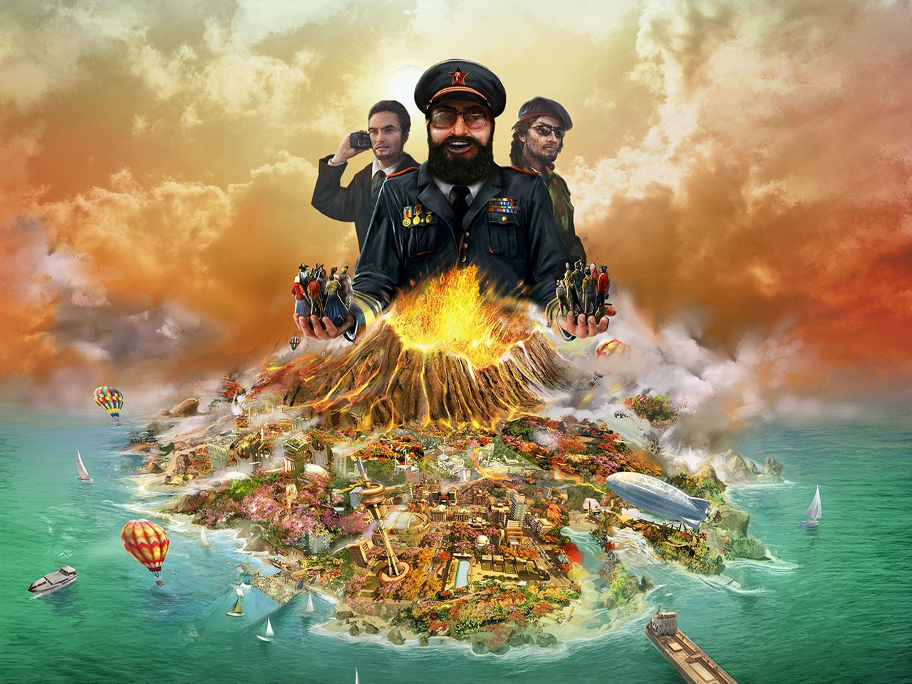 Cover Tropico 4 (2011) PC | Repack from R.G. Mechanics