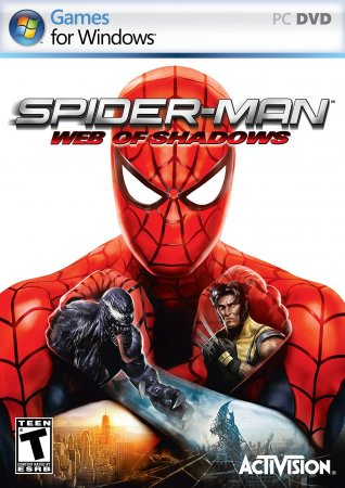 Poster Spider-Man: Web of Shadows (2008)