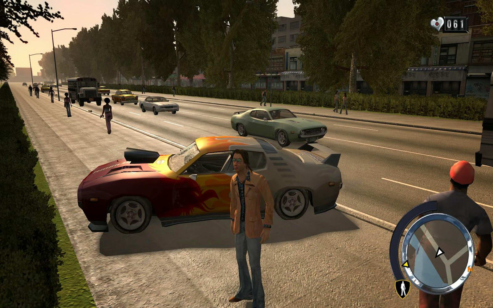 Screenshot for the game Driver: Parallel Lines (2007) PC | Repack from R.G. Mechanics