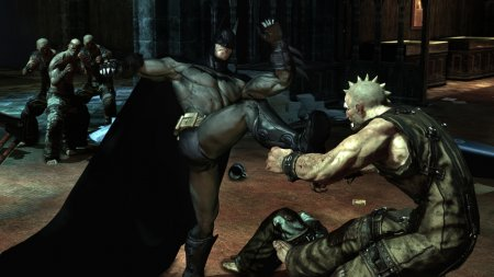 Screenshot for the game Batman: Arkham Asylum (2009) PC | RePack by R.G. Mechanics