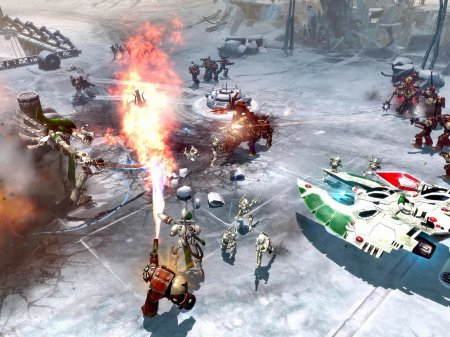 Screenshot for the game Warhammer 40,000: Dawn of War II: Chaos Rising (2009-2010) PC | RePack by R.G. Mechanics