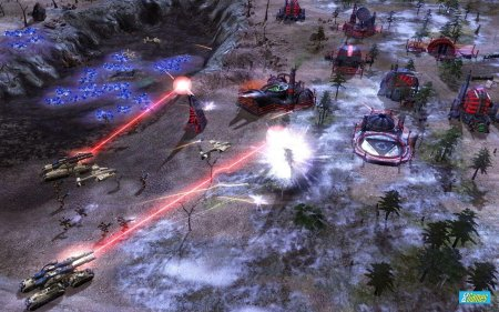Screenshot for the game Command & Conquer 3: Kane's Digest (2007-2008) PC | RePack by R.G. Mechanics