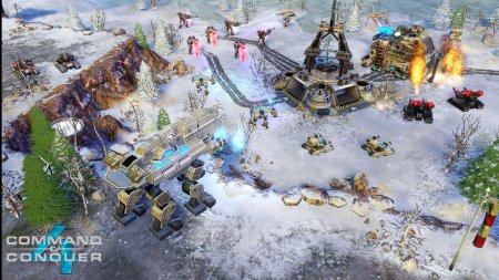 Screenshot for the game Command & Conquer 4: Epilogue / Command & Conquer 4: Tiberian Twilight (2010) PC | RePack by R.G. Mechanics