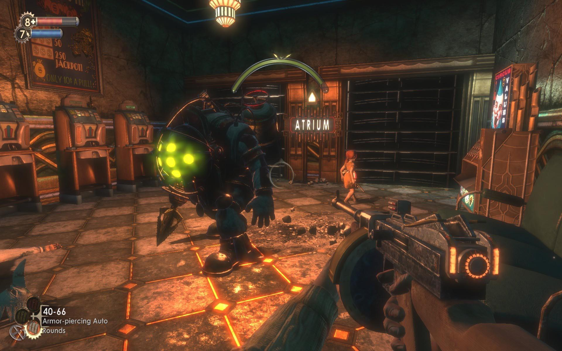 Screenshot for the game Bioshock: The Digology (2007-2010) PC | RePack by R.G. Mechanics