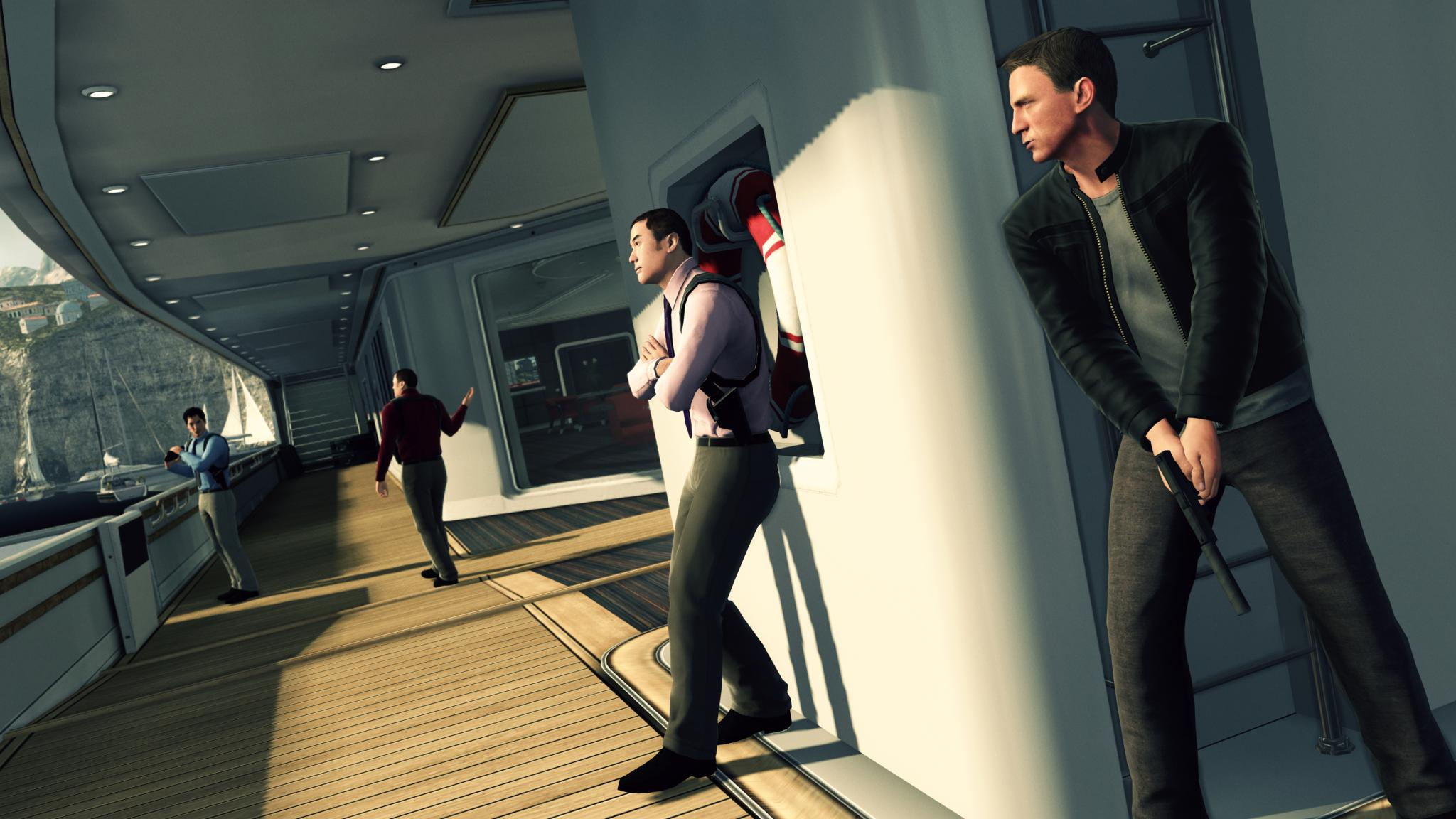 Screenshot for the game James Bond: Blood Stone (2010) PC | RePack by R.G. Mechanics