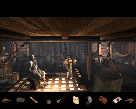 Screenshot for the game Treasure Island: In Search of a Pirate Treasure / 2008 | Repack from R.G. Mechanics