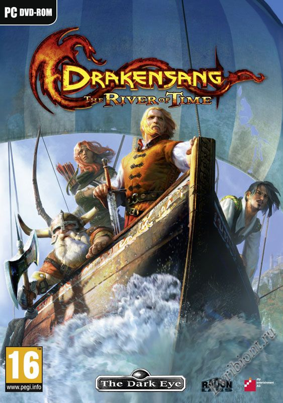 Cover Drakensang: The River of Time / Drakensang: The River Of Time