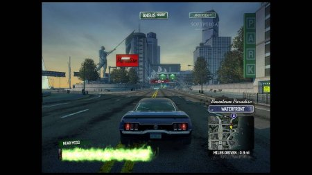 Screenshot for the game Burnout Paradise: The Ultimate Box (2009) PC | RePack by R.G. Mechanics