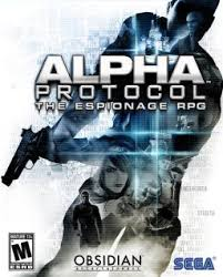 Poster Alpha Protocol (2010)