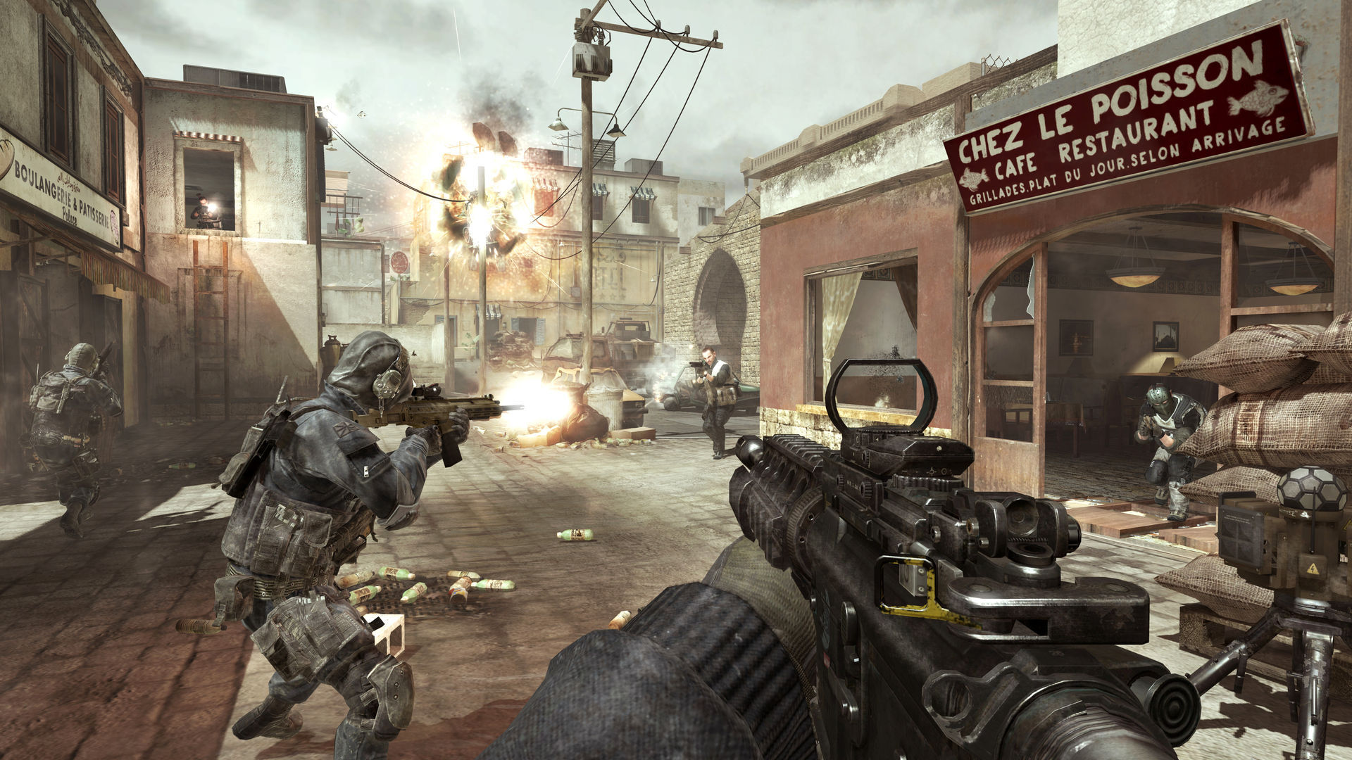 Screenshot for the game Call of Duty: Modern Warfare 3 (2011) PC | Rip from R.G. Mechanics