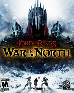 Poster The Lord Of The Rings: War In The North (2011)
