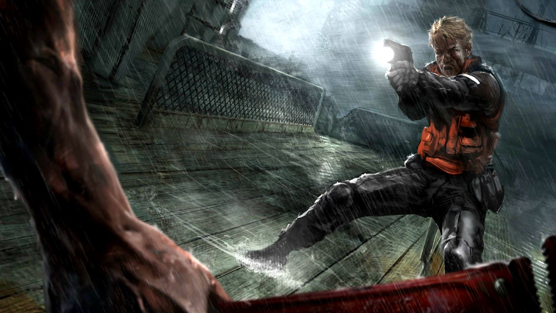 Screenshot for the game Cold Fear (2005) PC | RePack by R.G. Mechanics