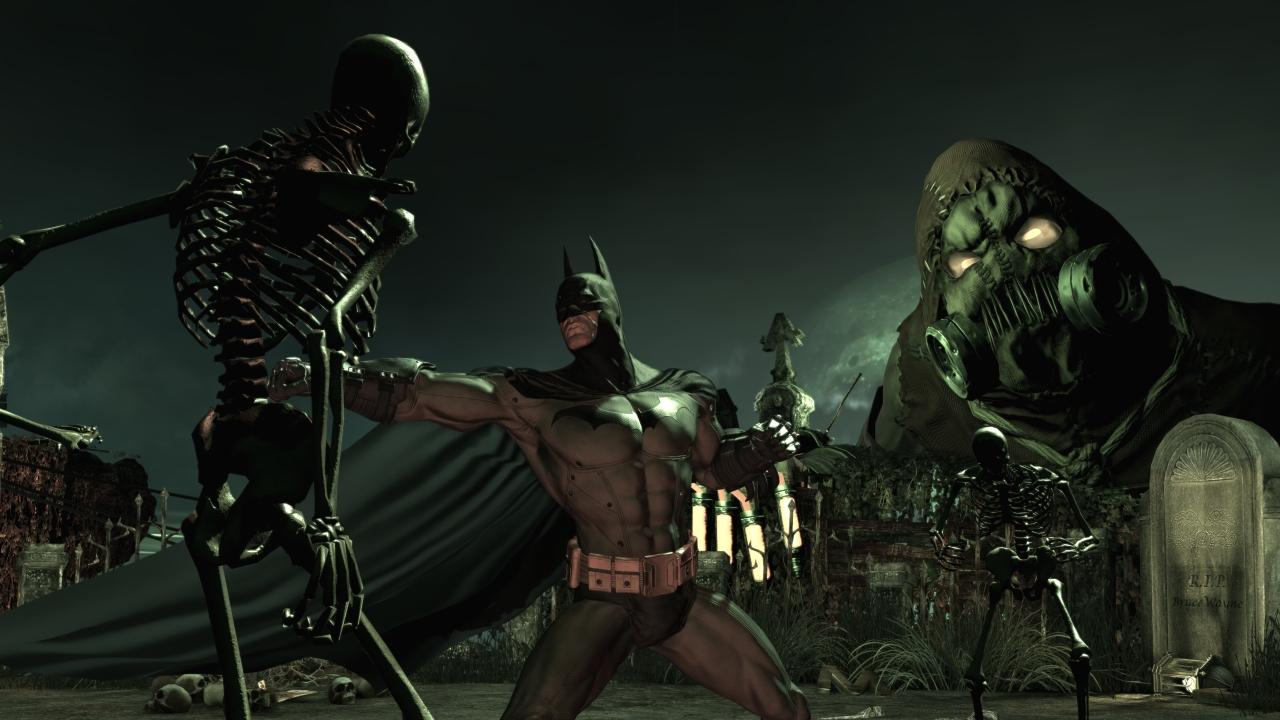 Screenshot for the game Batman: Arkham Asylum Game of the Year Edition (2010) PC | RePack by R.G. Mechanics