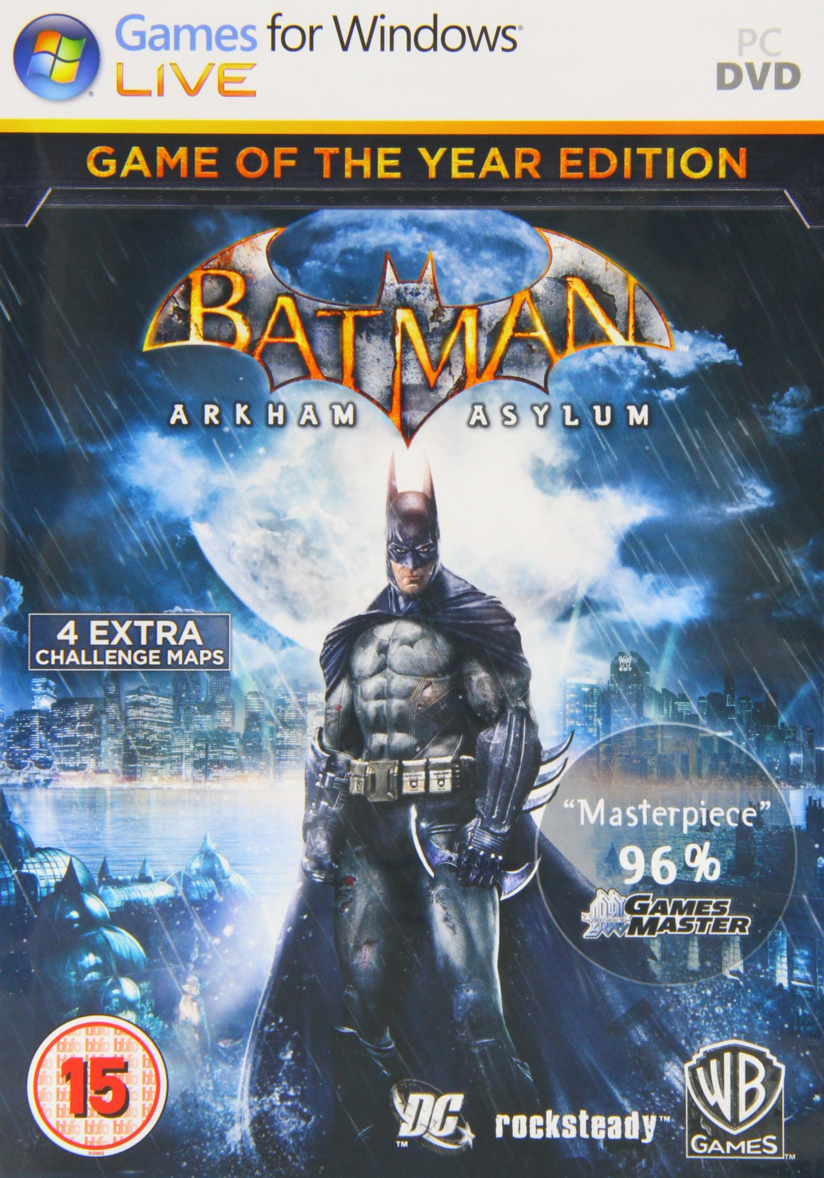Poster Batman: Arkham Asylum Game of the Year Edition (2010)
