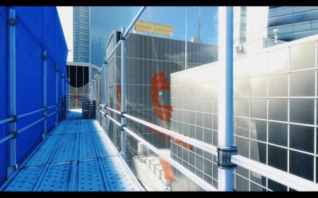 Screenshot for the game Mirror's Edge - Reflected Edition (2009) PC | RePack by R.G. Mechanics