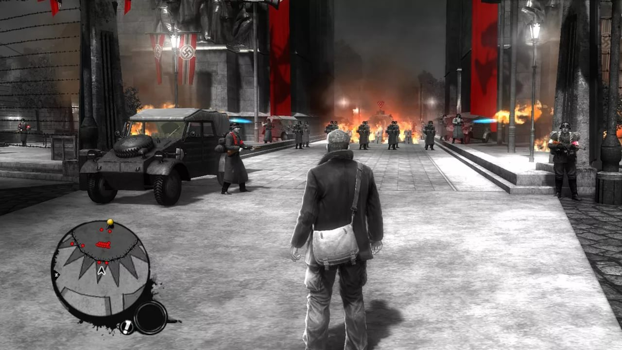 Screenshot for the game The Saboteur (2009) PC | RePack by R.G. Mechanics
