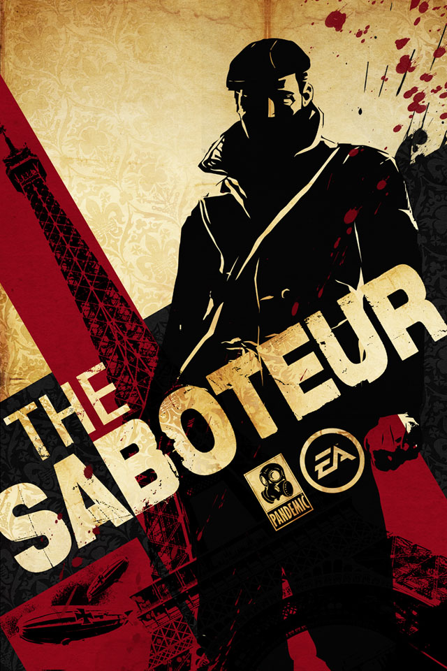 Poster The Saboteur (2009)