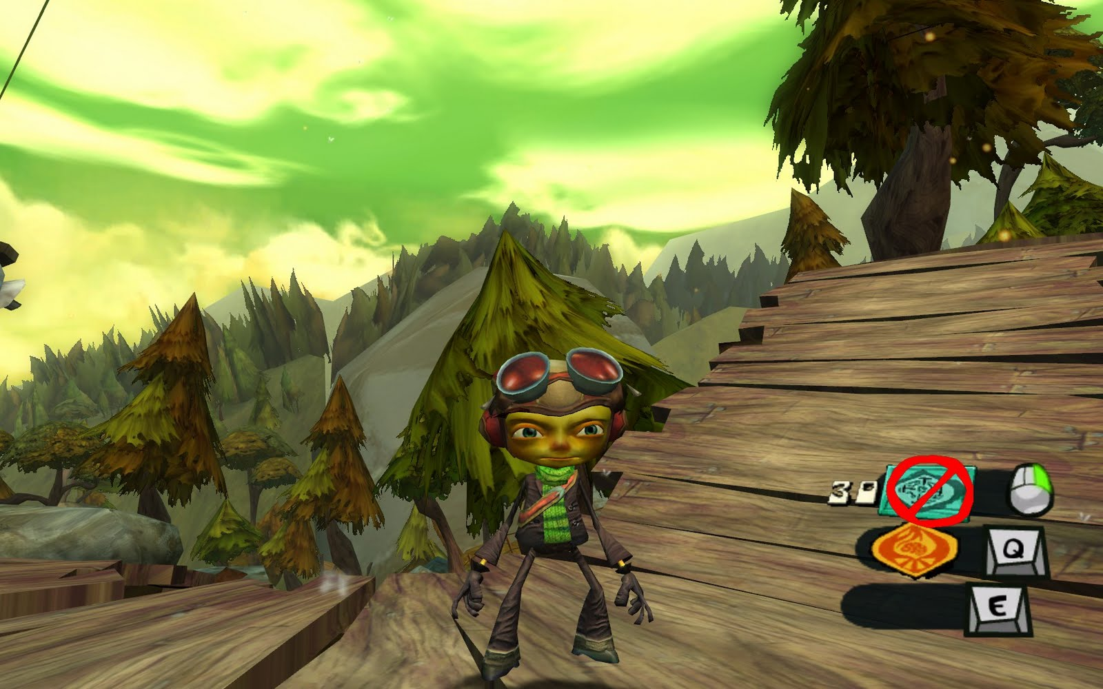 Screenshot for the game Psychonauts (2005) PC | RePack by R.G. Mechanics