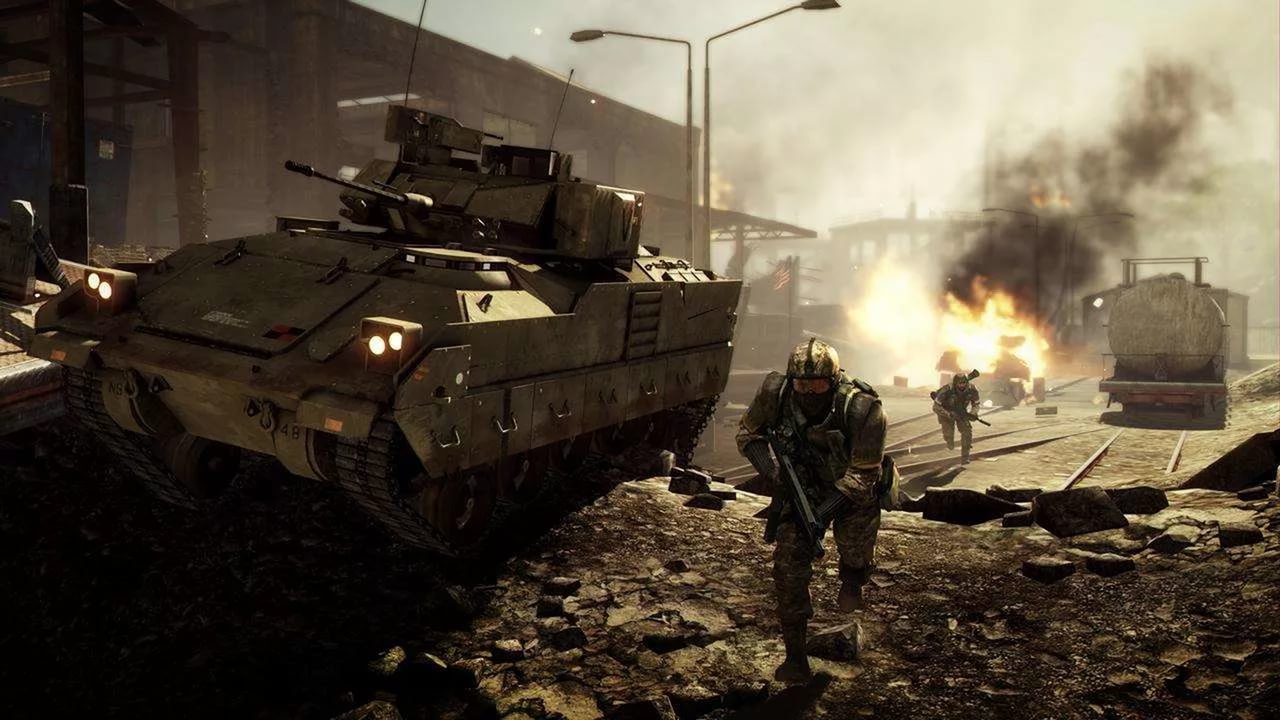 Screenshot for the game Battlefield: Bad Company 2 (2010) PC l RePack from R.G. Mechanics