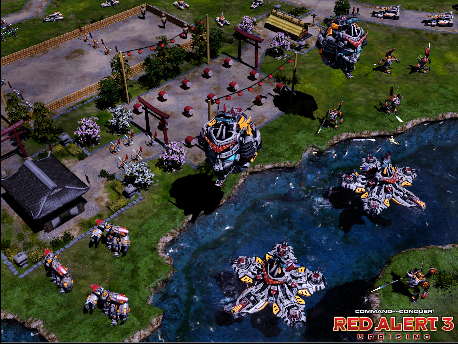 Screenshot for the game Command & Conquer: Red Alert 3 - Dilogy (2008-2009) PC | RePack by R.G. Mechanics