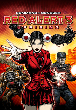 Cover Command & Conquer: Red Alert 3 - Dilogy (2008-2009) PC | RePack by R.G. Mechanics
