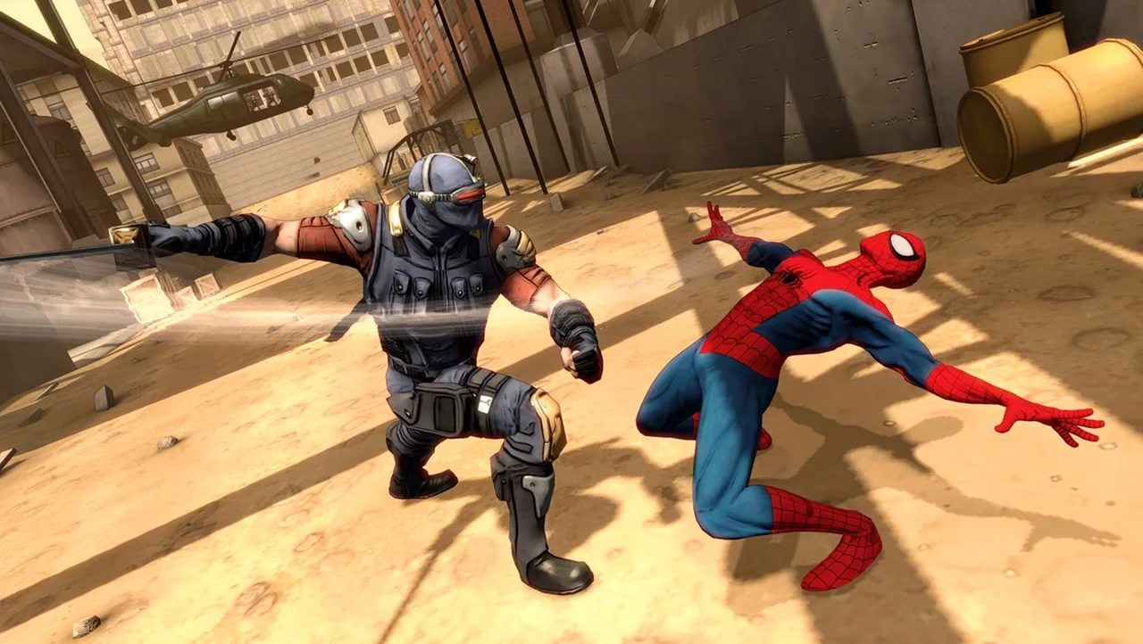 Screenshot for the game Spider-Man: Shattered Dimensions (2010) PC | RePack by R.G. Mechanics