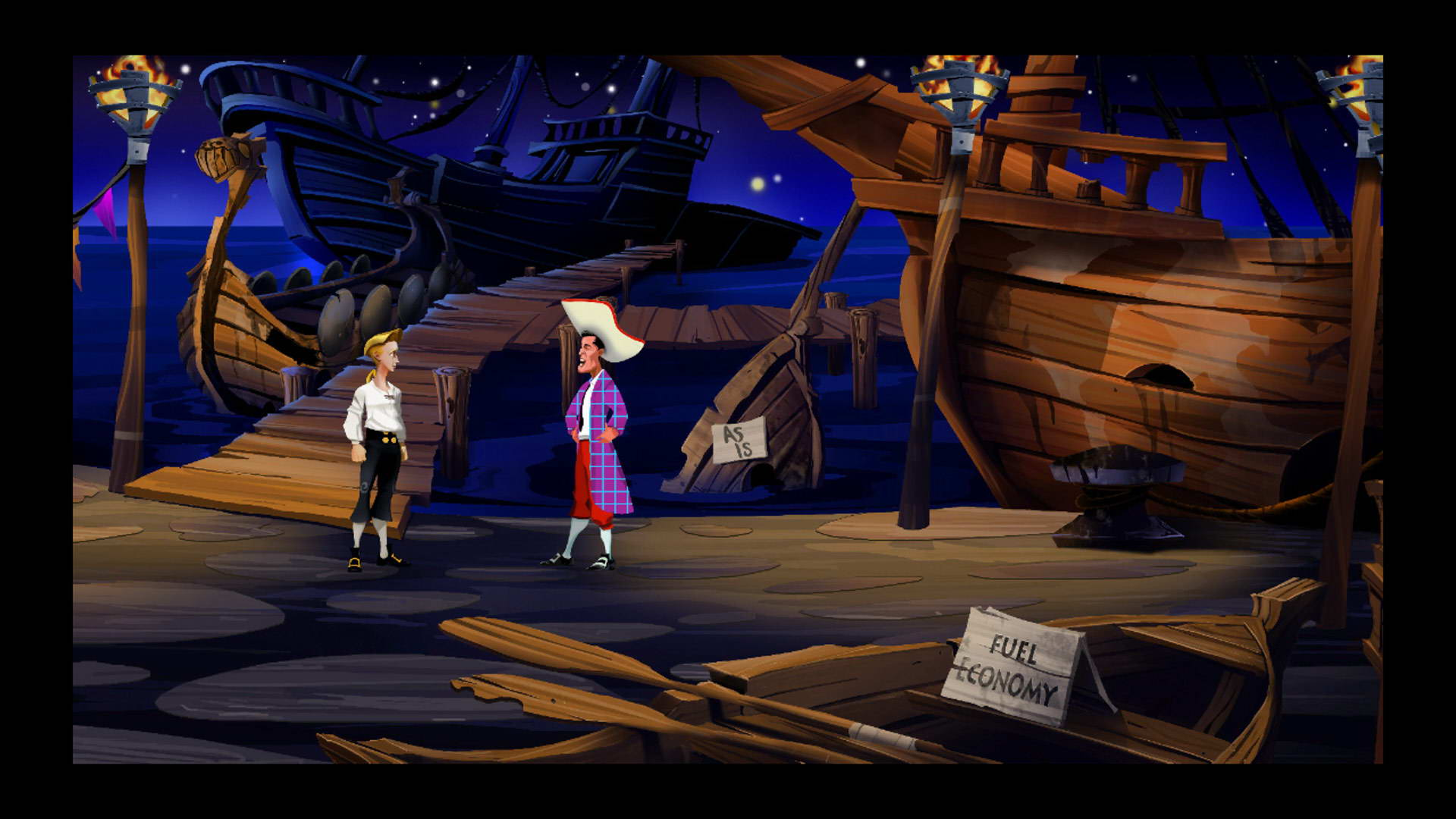 Screenshot for the game The Secret of Monkey Island: Special Edition (2009) PC | RePack by R.G. Mechanics