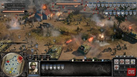 Screenshot for the game Company of Heroes (2009) PC | Rip from R.G. Mechanics