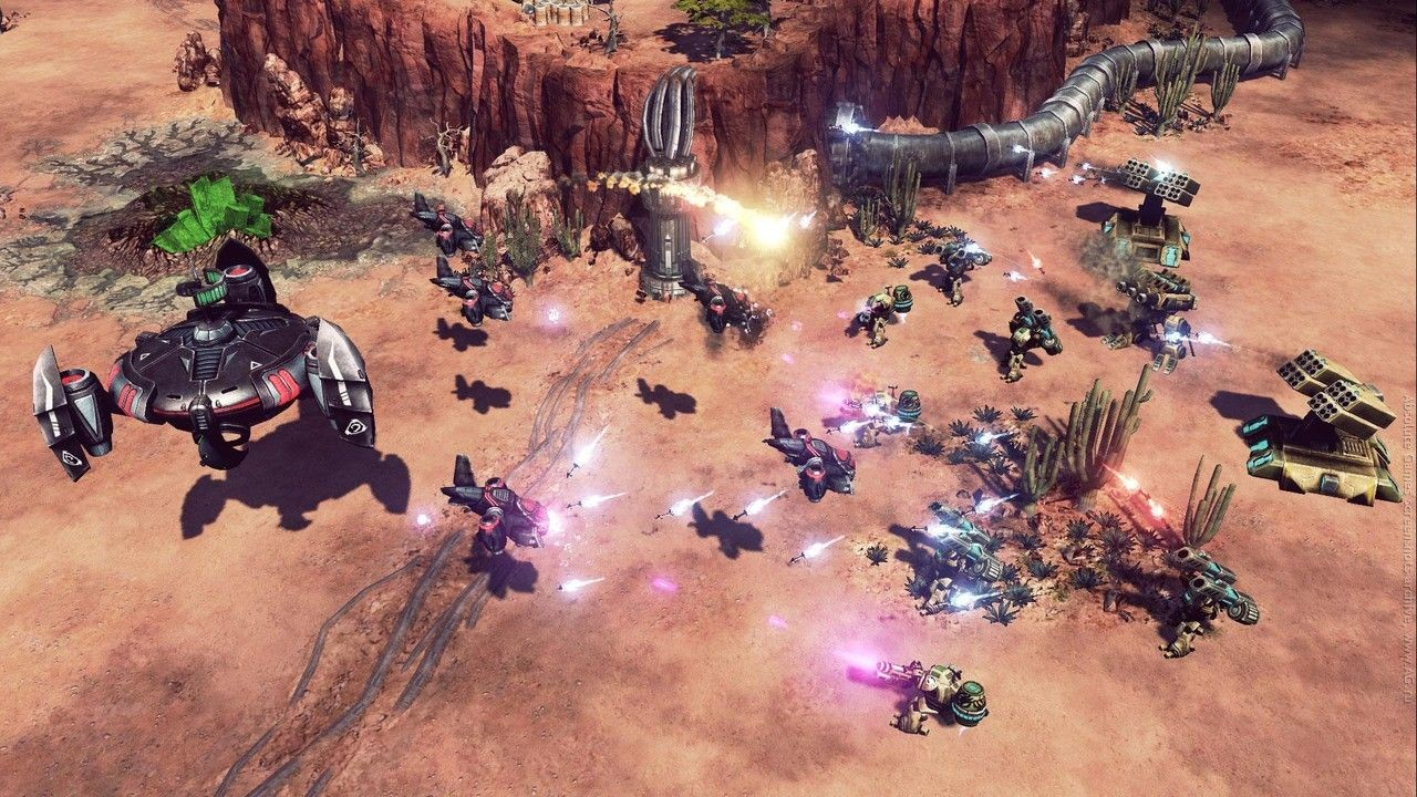 Screenshot for the game Command & Conquer 4: Tiberian Twilight (2010) PC | RePack by R.G. Mechanics